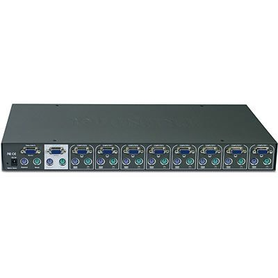 TREND 8 PORT PS2 KVM WITH OSD & RACK MOUNT