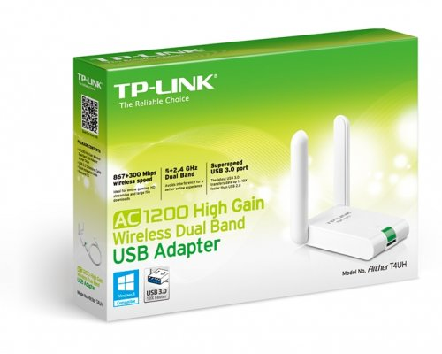 TPLINK AC1200 Dual Band Wireless USB Adapter