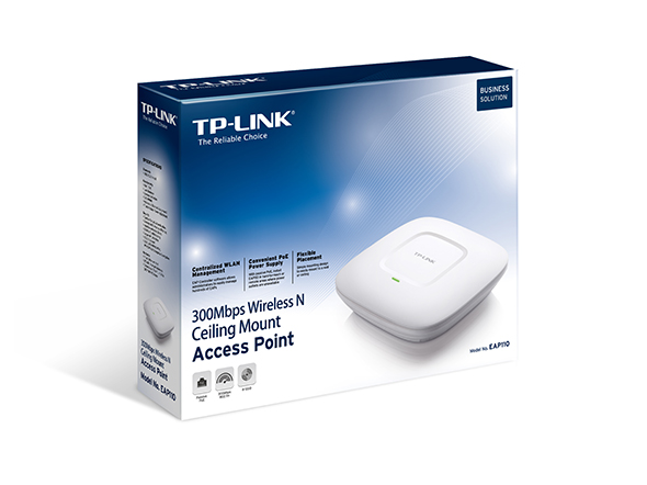 TPLINK 300Mbps Wireless N Ceiling/Wall Mount Access Point
