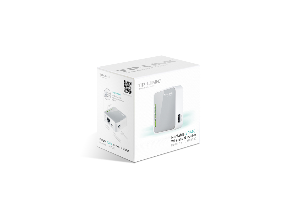 TPLINK 150Mbps Portable 3G Wireless N Router