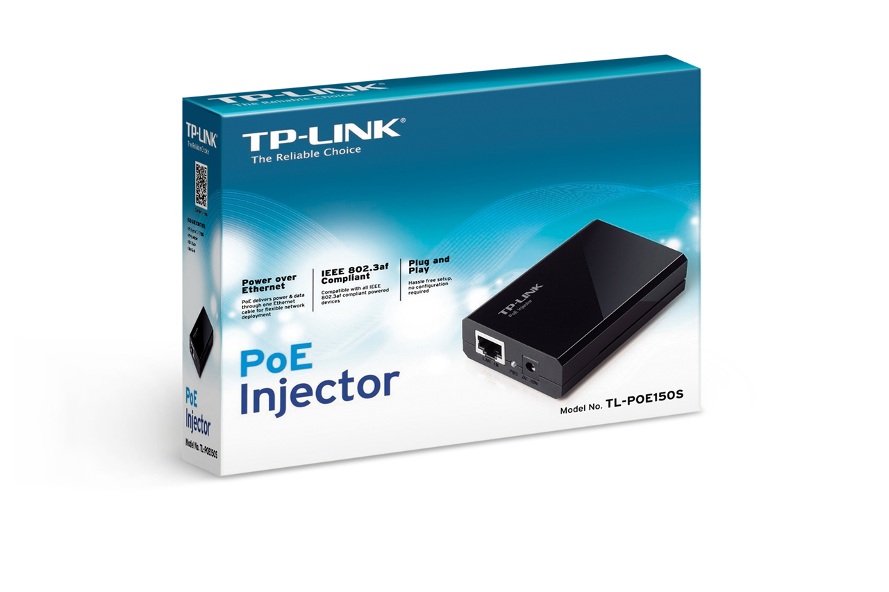 TPLINK PoE Injector Adapter