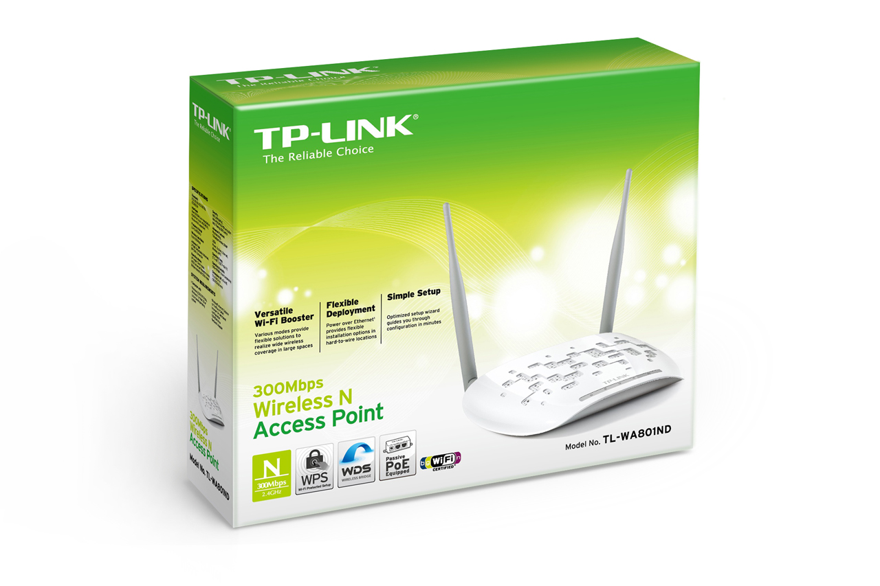 TPLINK 300Mbps Wireless N Access Point