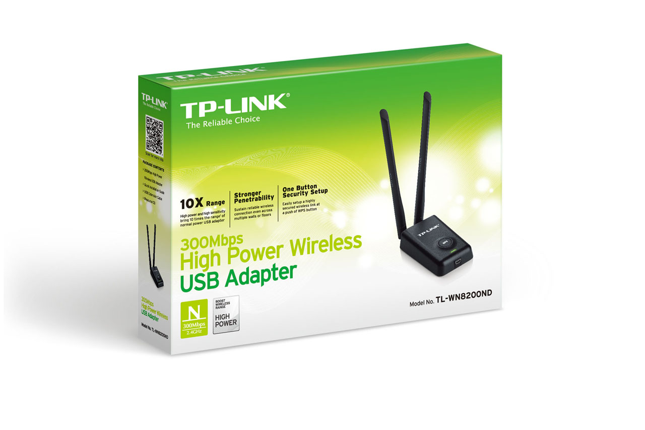 TPLINK 300Mbps High Power Wireless USB Adapter