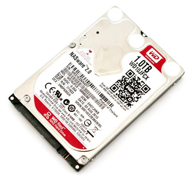 WD RED/HDD/1TB/2.5/SATA3/16MB CACHE/9.5MM