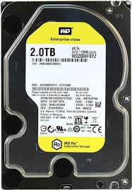 WD RE/HDD/2TB/3.5/SATA3/128MB CACHE