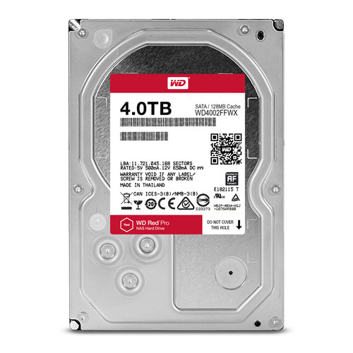 WD RED PRO/HDD/4TB/3.5/SATA3/7200RPM/128MB CACHE