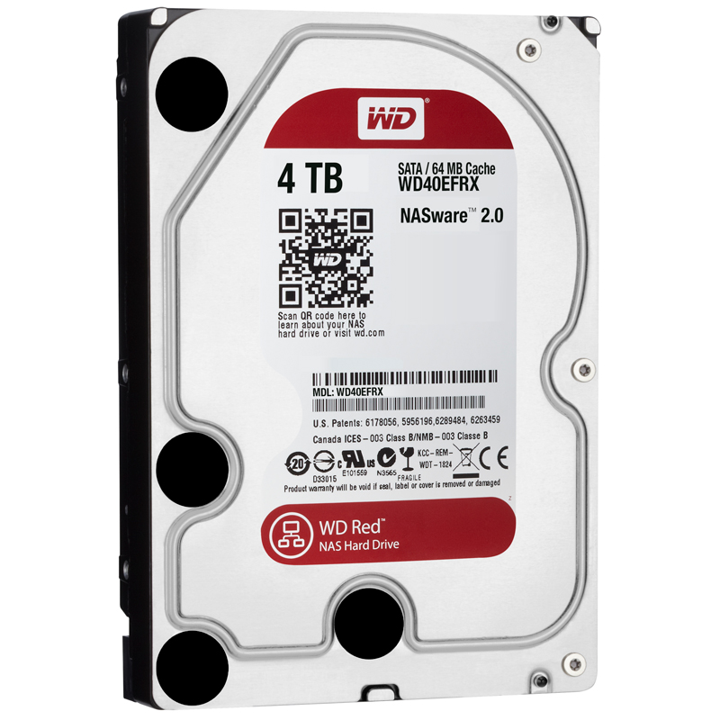 WD RED/HDD/4TB/3.5/SATA3/5400RPM/64MB CACHE
