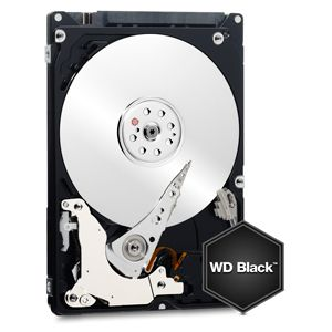 WD BLACK/HDD/500GB/2.5/SATA3/32MB CACHE/7MM
