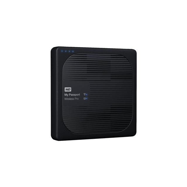 WD MY PASSPORT WIRELESS PRO/2TB/BLACK/EXT