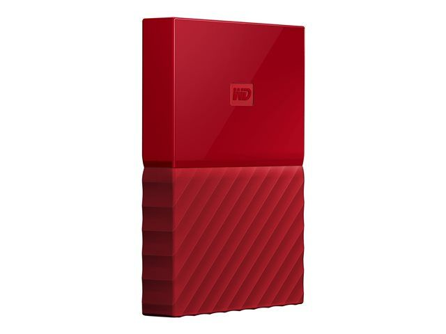 WD MY PASSPORT LUMEN/1TB/RED/2.5/EXT