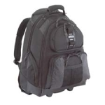 "Targus - Bags - Rolling Backpack (15.4"" Pocket) 1680D Nylon (ABS"