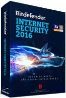 BITDEFENDER 2016  INTERNET SECURITY 1 USER