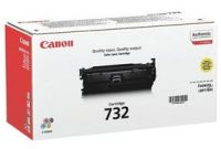 canon 732 Yellow toner , 6400pages - for canon laser LBP-7780CX