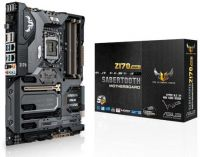 Asus Z170 Sabertooth Mark1 TUF series : with TUF Fortifier  Thermal Armor with Flow Valve  detachable YUF metal badge  QLED boot indicators  TUF decetive 2 mobile APP  Thermal Radar2  TUF dust defender with protection covers for all i/o port and slots  TU