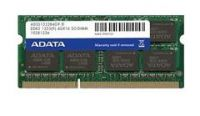 Adata AD3S1333C2G9-R , 2Gb so-dimm , 204 pin - DDR3-1333 , CL9 , 1.5V - lifetime warranty