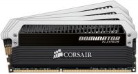 Corsair CMD32GX3M4A1600C7 , dominator Platinum with DHX technology  with white LED light bar  DHX Pro / corsair link connector , 8 layers PCB design , 8Gb x 4 kit - support Intel XMP ( eXtreme Memory Profiles ) , ddr3-1600 , CL7 , 1.5v low-voltage - 240pi