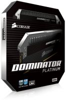 Corsair CMD8GX4M2B3200C16 dominator Platinum , with DHX technology  white LED light bar  DHX Pro / corsair link , with 8-layer PCB , 4Gb x 2 kit - support Intel XMP ( eXtreme Memory Profiles ) , Ddr4-3200 ( pc4-25600) , CL16 , 1.35v - 288pin - lifetime wa