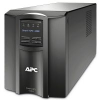 APC Smart-ups C - smc1000i , line interactive with AVRpower conditioning , with LCD graphics display , 1000VA / 600w  with monitoring software , usbserial interface