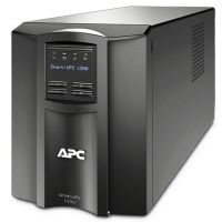 APC Smart-ups C - smc1500i , line interactive with AVRpower conditioning , with LCD graphics display , 1500VA / 900w  with monitoring software , usbserial interface
