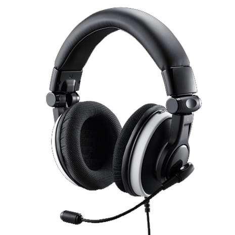 Coolermaster / CM Storm SGH-4600-KWTA1 Ceres-500 gaming headset - built-in amplifier , foldable design with swivel ear cup , 90mm earpad  40mm drivers , detachable noise-cancellation mic , in-line remote control , usb3.5mm