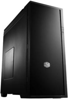 Coolermaster RC-652-KKN1 , Silencio 652 , no psu ( bottom placed design ) , all black : with sound proofing on all panels , front door with piano-black mirror finish  dust filter , removable covers top and side panel for silence or cooling , support 423mm