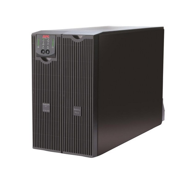 APC Smart-UPS RT SURT8000XLi with AP9619 ( Network Management Card  Environmental Monitoring ) installed in smart slot , Double Conversion Online , 8000VA  with monitoring software , serial interface , support multiple extended-run optional battery pack (